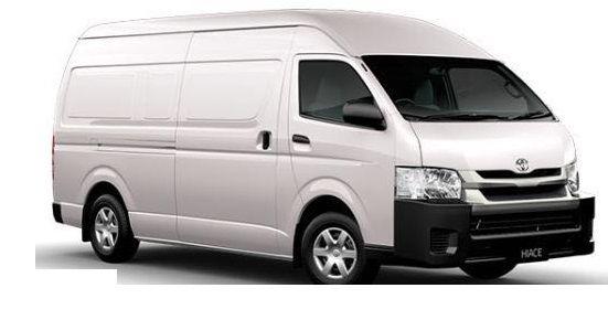 Import / export Toyota Hiace VAN 2.5L D4D