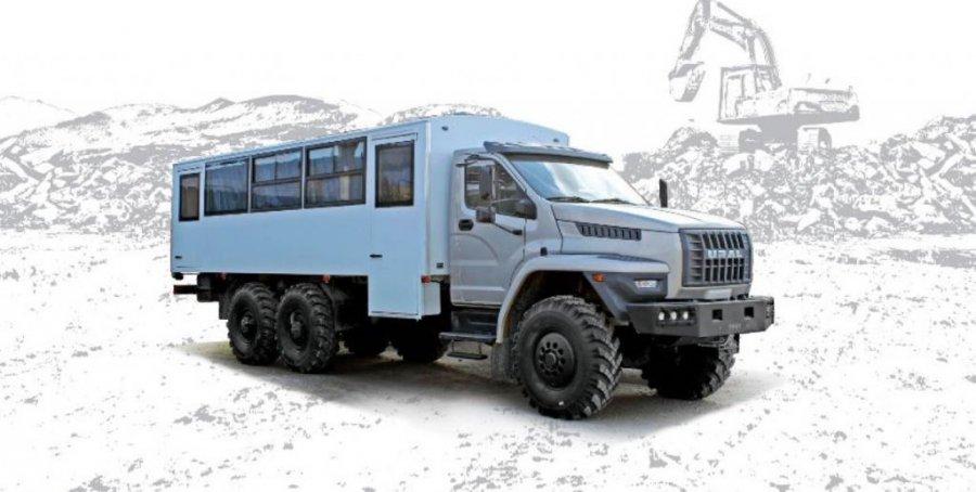 Import / export Ural NEXT 3255