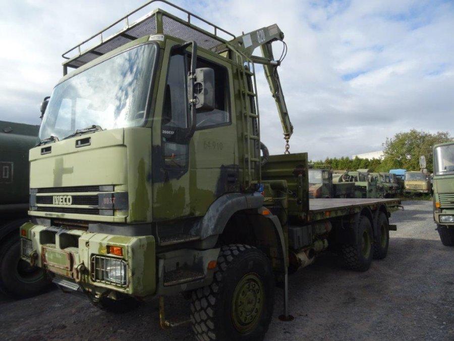 Import / export Iveco Eurotrakker 260E37 EX ARMY